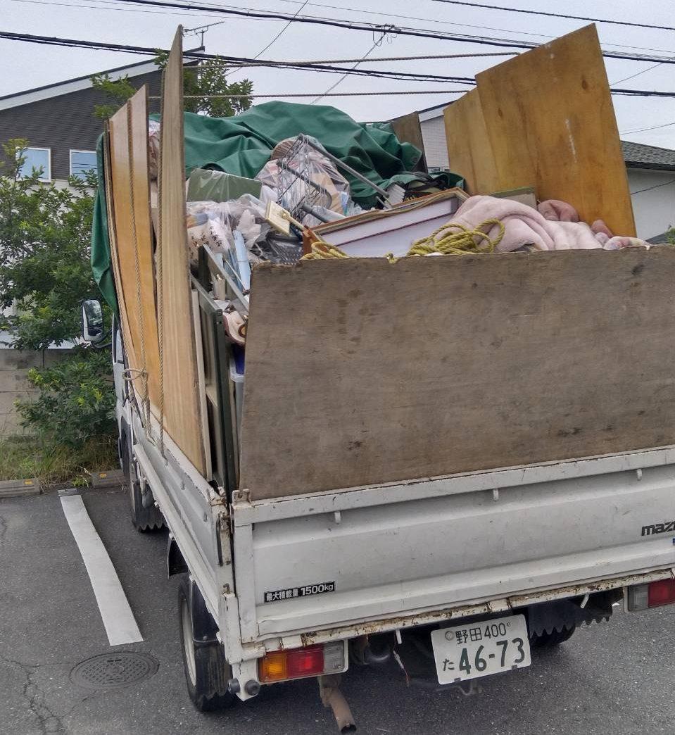 引越しゴミ 東京 即日