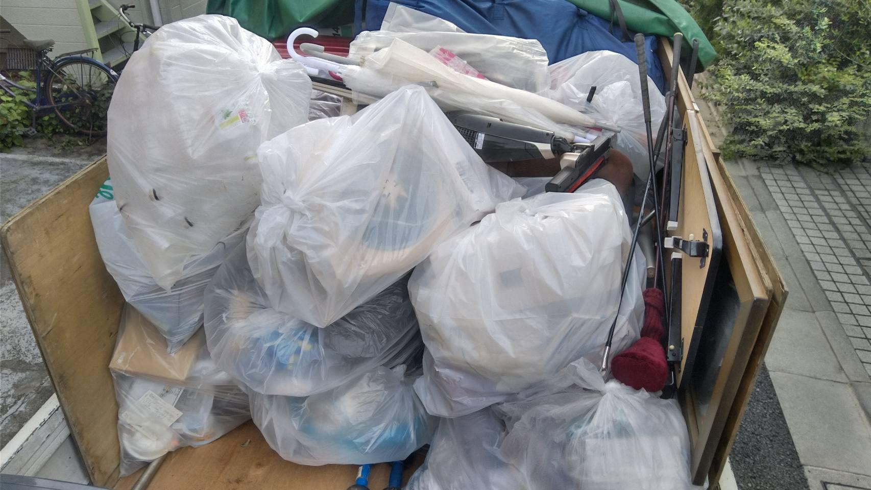 引越しゴミ回収 東京 即日