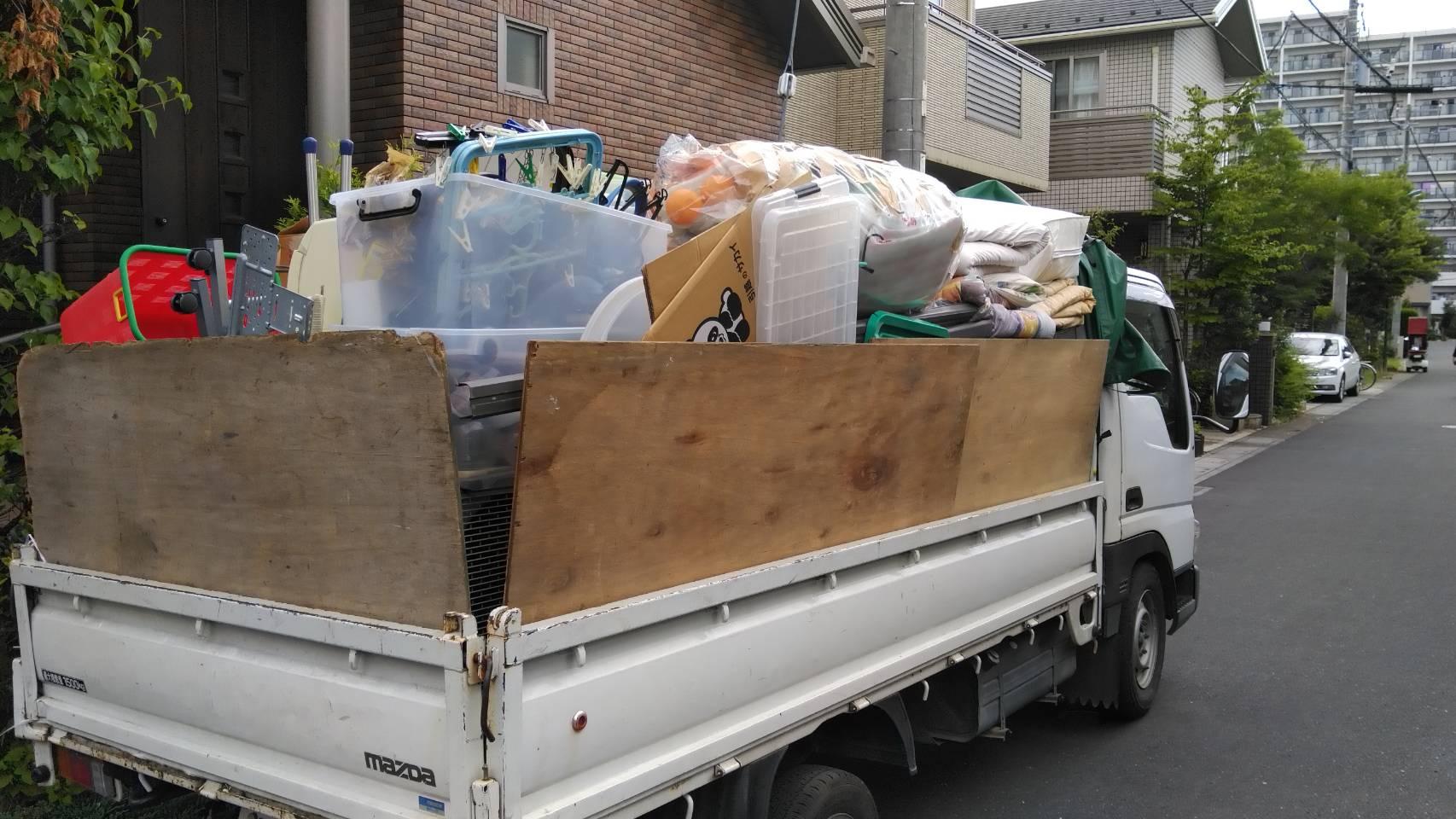 引越しゴミ回収 片付け 東京
